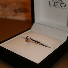Leo Diamond Engagement Ring K Platinum Boxed Ernest Jones