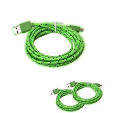 2M Hanfseil Micro USB Ladegerät Ladekabel Daten Kabel Sync Daten für Handy z8
