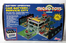 RARE VINTAGE 90'S MICRO MACHINES CAR BATTERY TRASNFORMING PLAYSET KIDMATE INCOMP