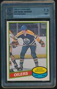 1980-81 O-Pee-Chee Mark Messier RC ASA 7.5 #289