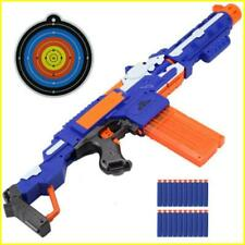 Nerf Gun Electric Toy Gun For Nerf Darts Soft Hole Head Bullets Darts Toy Kids