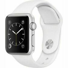 Reloj de Apple serie 3 38mm GPS-banda De Deporte Color Blanco Plateado