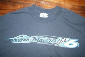 vintage NASCAR Mark Martin #6 Pfizer Roush Racing Exclusive T Shirt 2sided Large