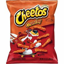 NEW SEALED CHEETOS CRUNCHY CHIPS 8.5 OZ FREE WORLDWIDE SHPPING