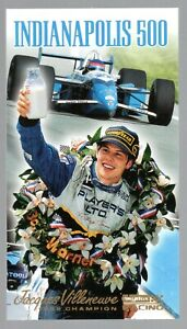 1995 SKYBOX INDY 500,  WINNER DRIVER'S CARD# 1 FINISH, JACQUES VILLENEUVE !!!!!!