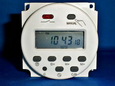 12V DC Programmable LCD Digital Timer Control 16A 8 Cycles Per Day Max Easy Use
