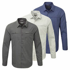 Craghoppers Long Sleeve Polyester Men's Casual Shirts & Tops