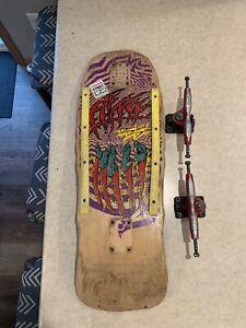 Alva Dave Duncan Designs Oldschool Skateboard and trucks