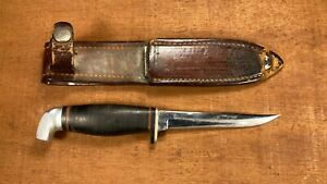 Vintage Case Small, Bird Trout Hunting Knife / With Original  Sheath