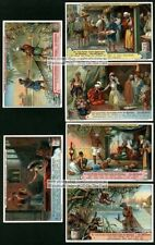 The Poor Fisherman From 1001 Nights 6  NICE 1900 Trade Ad Cards