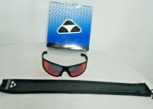 Liquid Eyewear LIQHMBRD02R Hammerhead Black Frames Red Mirror Polarized Lenses
