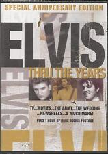 Elvis Thru the Years DVD 2007 Special Anniversary Edition Rare Bonus Footage