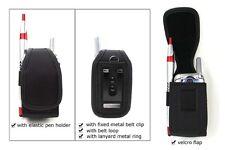 Asthma Inhaler Heavy Duty Pouch w/ Metal Clip/Belt Loop*USA SELLER*