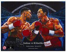"""Joshua  v Klitschko """"Under the Arch"""" Art Print By Killian Art"""