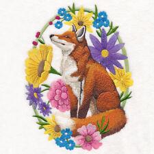 Embroidered Ladies Fleece Jacket - Woodland Whimsy Fox M14940 Sizes S - Xxl
