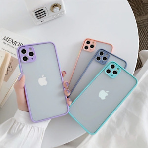 Case for iPhone 11 12 Pro Max Mini 7 8 SE 2 XR X XS Clear Shockproof Phone Cover