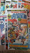 from Avengers Comic lot mighty spectacular thor 1-3 6 9 10 12 14 15 17 18 19 fn