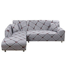 L Shape 3+3 Seaters Sectional Sofa Slipcovers / 3-Seater Sofa Covers Protector