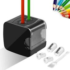 Electric Pencil Sharpener, Upeffeet Convent USB&Battery Powered 2 Holes Electri