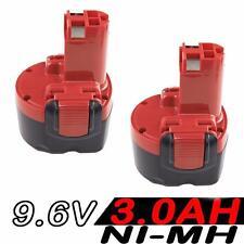 2x 3.0AH 9.6V Akku für Bosch BAT048 2607335524 2607335461 PSR PAG 960 260700180