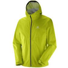Capi d' abbigliamento da campeggio da uomo verdi marca Salomon