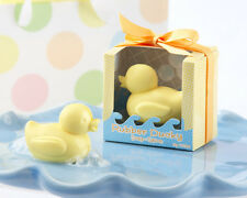 96 Colorful Rubber Ducky Scented Soap Baby Shower Favors