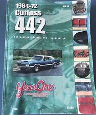 1963-72 Cutlass 442 Year One Restoration Parts & Accesories Catalog