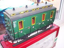 LGB 30500 G SCALE MODEL RAILWAY PASSENGER COACH - BOXED  (ROLLING STOCK)
