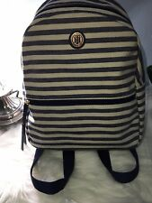 Tommy Hilfiger Backpack Canvas Striped