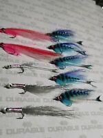 10x ultimate BASS Saltwater flies size4, MACKREL fly fishing sea NEW orvis,FLY