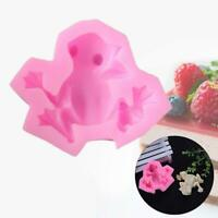 Frog Shape Silicone Chocolate 3D DIY Mold Candy Cookies Tool Mould Cake Dec P2B3
