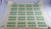 USA #769 Plate of 120 Stamps 20 Souvenir Sheets UNCUT Postage 1935 MINT NH