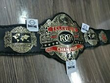 New ROH Television Championship Belt, adult size & metal plates