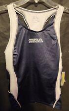 M Women's Tri tank shirt Profile Design Elite triathlon navy pink Size M Nwt