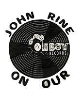 Vintage T Shirt - John Prine On Tour Oh Boy Records White And Black Size Xl