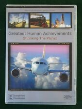 GREATEST HUMAN ACHIEVEMENTS - Shrinking the planet -  DVD
