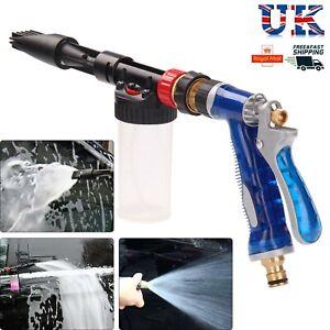 NEW Snow Foam Car Wash Spray Gun Lance Uses Hose Pipe Multifunctional Foamaster