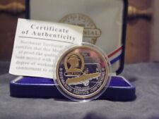 2000 N W Territorial Mint USA Submarine Service Centennial 1Oz Silver Proof Coin