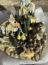 Danbury Mint Environment Leaving Rivendell Lord Of The Rings  Statue