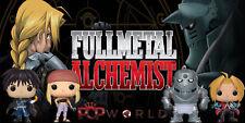 Funko Pop! Animation FullMetal Alchemist set of 4 Edward Alphonse Winry Mustang