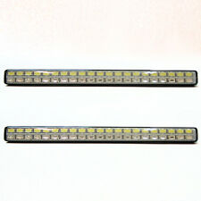 2x Led Daytime Running Light Drl Indicator Turn Signal Lamp Off Road Boat 12v