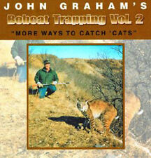 Bobcat Trapping Volume II More Ways To Catch Cats by John Graham (DVD)