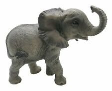 'Out Of Africa' Collection Elephant Calf Statue Figure Ornament Realistic New