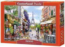 NEW CASTORLAND Puzzle 3000 Tiles Pieces Jigsaw Flowering Paris