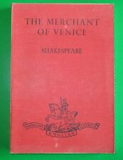 Shakespeare THE MERCHANT OF VENICE  intro. & notes by K. DEIGHTON ( Mac. 1944)