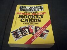 1991 #1 Beckett Hockey Card Price Guide Yearly Ed - pocket size ONLY ONE ON EBAY