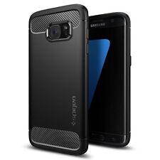 Custodia Samsung Galaxy S7 EDGE Spigen [Rugged Armor] Black Massima Protezione