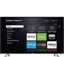 "Hitachi 55R80 55"" Class Smart Led 4K Ultra Hdtv with Roku Tv"