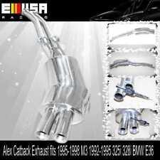 Alex Catback Exhaust FOR 1995-1998 M3 1992-1995 325i 328i BMW E36