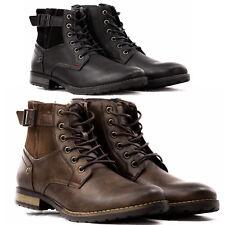 Stivali Stivaletti Scarpe Uomo Pelle PU Polacchini Anfibi Sneakers Camperos T45